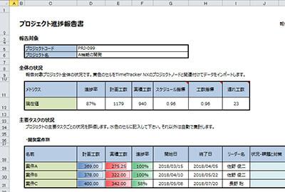 timetracker nx 4 1 の新機能 特長 工数管理 プロジェクト管理